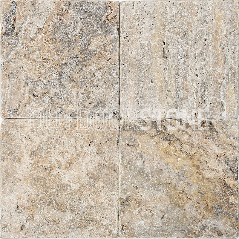 Antico Tumbled 6x6 Outdoor Stone