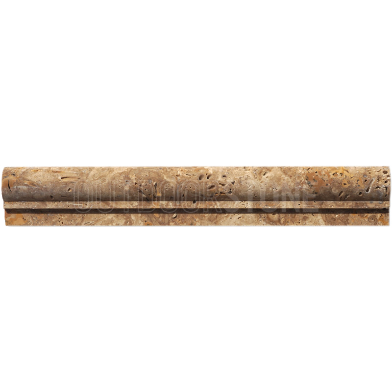 Expresso Rustic Chairrail Ogee 2x12
